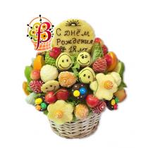 Букет из фруктов Солнышко