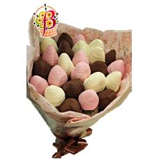 Букет из клубники в шоколаде №1.1