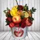 Букеты из целых фруктов и цветов, Страница №1
