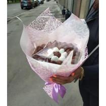 Букет клубника в шоколаде №1
