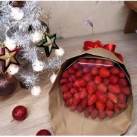 Новогодние фруктовые букеты