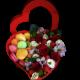 Ягоды и цветы в коробке, Страница №1